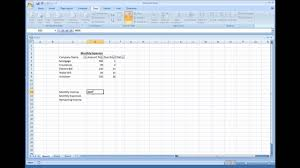 microsoft excel creating a simple expense sheet microsoft excel creating a simple expense sheet