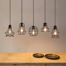1M <b>Retro Vintage</b> Rope Pendant Light Lamp <b>Loft</b> Creative ...