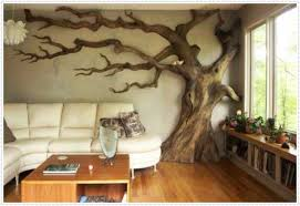 decorating ideas wall art decor:  attractive and unique wooden wall decoration ideas modern