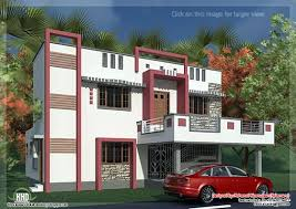 South Indian model mini st sq ft house exterior design    South Indian home design  House specification