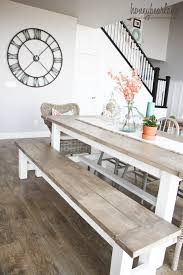 real rustic kitchen table long: i love this table if we were able to get a hold of all of the tools i bet trey and maybe justin could build it for you as soon as your