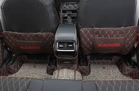 Защита на 2-й ряд (цвет черный, коричневый, <b>надпись Karoq</b> ...