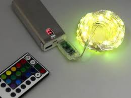 Wire LED String, <b>10m x 100</b> LEDs, USB Powered – Solarbotics Ltd.