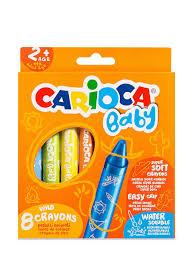 """<b>Набор восковых мелков</b> """"BABY 2+"""", 8 шт. <b>Carioca</b> 7921929 в ..."""
