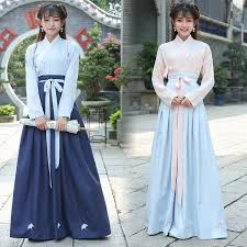 Autumn Winter <b>Long</b> Sleeve <b>Chinese</b> Hanfu <b>Clothing</b> Set Retro <b>Style</b> ...