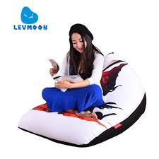 Online Shop <b>LEVMOON Beanbag Sofa</b> Chair Super God Seat Zac ...