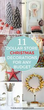 cheap christmas decor: i absolutely love all of these dollar store christmas ideas the gold wreath is my absolute favorite i have a very small christmas budget this year and