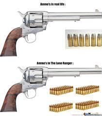 Ammo's In The Lone Ranger by trezah - Meme Center via Relatably.com