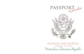 passport invitations templates info passport invitations templates