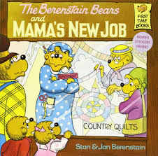 the berenstain bears and mama s new job stan berenstain jan the berenstain bears and mama s new job stan berenstain jan berenstain 9780394868813 com books