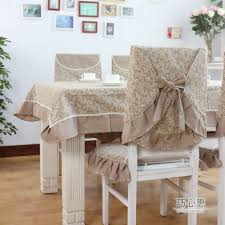 Fabric Dining Room Chair Covers Dining Font B Dining B Font Table Cloth Chair Cover Cushion Fabric