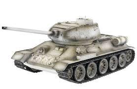 <b>Радиоуправляемый танк Taigen</b> T34-85 (зимний) 2.4Ghz