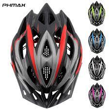 PHMAX 2019 Bicycle Cycling Helmet Ultralight EPS+<b>PC</b> Cover <b>MTB</b> ...