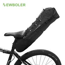 NEWBOLER <b>Waterproof Bike Saddle Bag</b> Large <b>Bicycle</b> Tail <b>Seat</b> ...