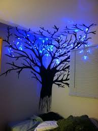 what an artistic idea for easy home mood lighting and permanent night light fixture hand bedroom mood lighting mood