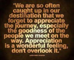 Appreciation is a wonderful feeling life quotes quotes family ... via Relatably.com