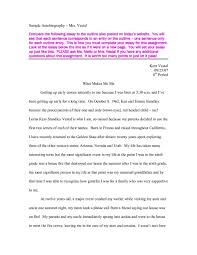 college autobiography essay sample essay topics cover letter autobiography essay example autobiographical