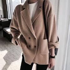 Lapel Coat <b>Button Sweater</b> Roll Sleeve Knitwear | <b>Women</b> Fashion ...