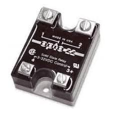 Opto 22 480D45-12 <b>DC Control SSR</b>, 480 VAC, 45 A, transient proof ...