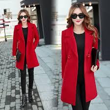 2019 <b>YICIYA Autumn Winter Jacket</b> Women Overcoat Wool Coat ...