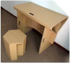 brilliant diy cardboard furniture paper table with chair set corrugated inside office table and chairs set cardboard office furniture