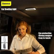 <b>Baseus</b> Bright <b>Car Reading Light</b> LED Emergency Light Auto Roof ...