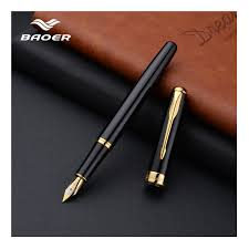 <b>Baoer 388 Fountain Pen</b> Ink High Quality Calligraphy pen pluma ...