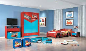 bedroom amazing kids bed with racing cars models and theme race scheme kids from room blue themed boy kids bedroom