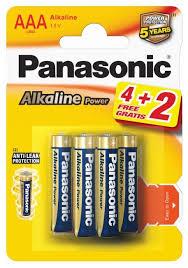 <b>Батарейка Panasonic</b> Alkaline Power <b>AAA</b>/LR03 — купить по ...