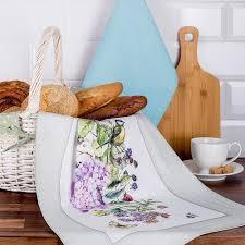 Набор кухонных <b>полотенец SANTALINO</b>, <b>БОТАНИКА</b>, 2 предмета ...