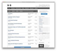 best wordpress job board themes for awesome job portal web sites nine to five