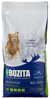 <b>Корм</b> для собак <b>Bozita Grain</b> Free Elk — купить по выгодной цене ...