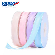 <b>YAMA</b> Polyester <b>Grosgrain Edge</b> Satin <b>Ribbon</b> For Gift Wrapping ...