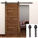 tcbunny country steel sliding barn wood door hardware antique style brown barn style sliding doors