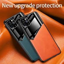 <b>Luxury Shockproof Business Leather</b> Texture Case On For Xiaomi ...