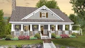 Drive Under House Plans  Ranch Style Garage Home Design   THDimage of The Greystone Cottage House Plan