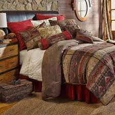 Southwest Bedroom Decor Southwestern Bedding Cabin Place