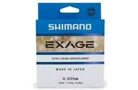 <b>Леска Shimano Exage 150м</b> 0,165мм 2,3кг (EXG15016) купить по ...