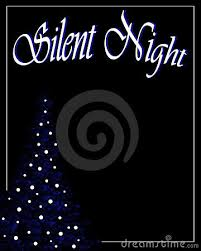 Image result for silent night black and white
