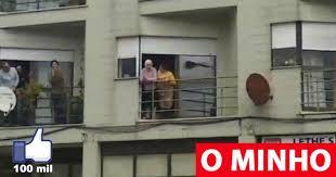 Glorinha comemorou os 100 anos à janela em Ponte da Barca