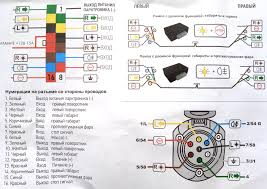 Подключение фаркопа - розетки, провода, блоки согласования ...