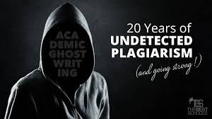 academic ghostwriting years of undetected plagiarism and academic ghostwriting 20 years of undetected plagiarism and going strong