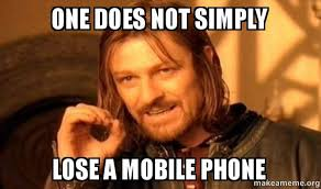 Life After Losing my Mobile Phone | Vadakkus! via Relatably.com