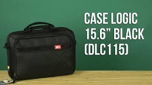 "Распаковка <b>Case Logic 15.6</b>"" Black DLC115 - YouTube"