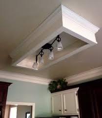 kitchen fluorescent lighting. easy update for dated fluorescent light box kitchen remodeling lighting