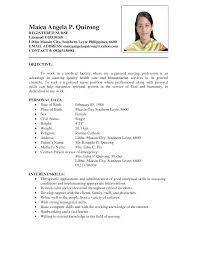 resume registered nurse manager nurse by pgf      resume templates