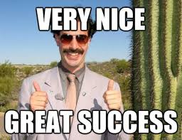 Image result for borat great success