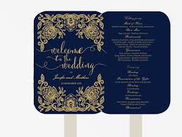wedding seating chart poster diy editable powerpoint portrait wedding fan program editable ms word template diy navy blue and gold lace