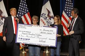trump s camp made three big promises to donate money to charity trump s camp made three big promises to donate money to charity what happened the washington post