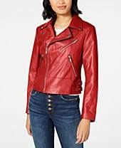 <b>Faux Leather</b> Jackets For Women